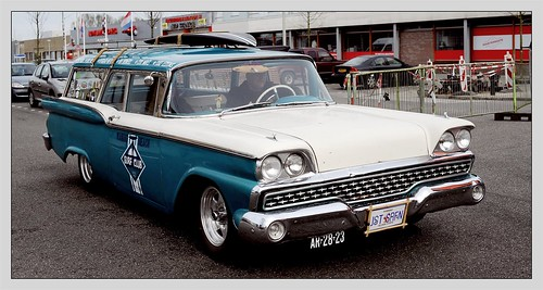 1959 Ford 2-door Ranch Wagon