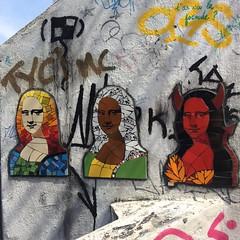 monas (Danilo Veloz) Tags: brazil rj escadaria riodejaneiro davinci mona monalisa art streetart
