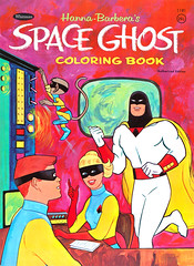 1967 Space Ghost Coloring Book (Tom Simpson) Tags: spaceghost 1960s comics cartoons vintage coloringbook art illustration