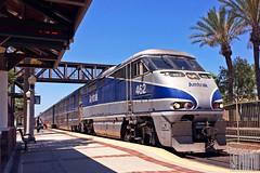 2014-07-13 Fullerton CA AMTK462 F59PHi (gravelydude1966) Tags: locomotive emd f59phi amtrak amtk462 passenger commuter surfliner fullerton california