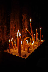 Candles (Werner Schnell Images (2.stream)) Tags: ws candles kerzen bruderklauskapelle mechernich eifel