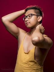 Spring 2017 (famousfeline) Tags: gay indonesia indonesian boy color profile nikon pink pinkhair underwear purple glasses glamor magenta tuanakottaphotography male model selfie selfportrait