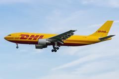 DHL / A300F / D-AEAQ / EGLL 27L (_Wouter Cooremans) Tags: egll lhr london heathrow spotting spotter avgeek aviation airplanespotting dhl a300f daeaq 27l a300