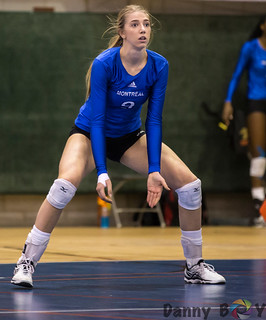 Women Volleyball Carabins vs Rouge et Or