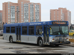Edmonton Transit System #4135 (vb5215's Transportation Gallery) Tags: ets edmonton transit system 1999 new flyer d40lf
