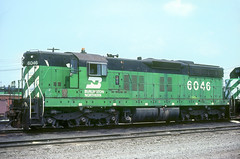 BN SD7 6046 (Chuck Zeiler) Tags: bn sd7 6046 railroad emd locomotive galesburg chz chuck zeiler