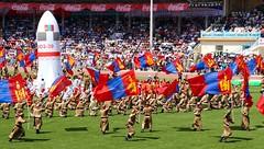 In Honor of the Mongolian Cosmonaut (carfull...home in Mongolia) Tags: jügderdemidiingurragchaa mongolia mongolian mongol nadaam festival cosmonaut fest summer ulaanbaatar