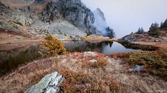 Chamrousse's Lake (Njones03) Tags: 2016 autumn chamrousse clouds lake mountain sky