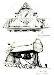 Anton Pieck- Bemin dan Amsterdam, 1948 ill Herengracht 476   details gevel (janwillemsen) Tags: antonpieck amsterdam bookillustration 19451948