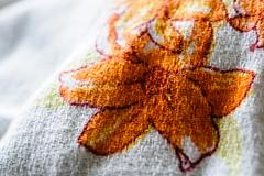 Cloth/Textile (Cjlws) Tags: clothtextile macromondays nikon d700 60mm macro 28 cloth textile fabric flower surf rip curl