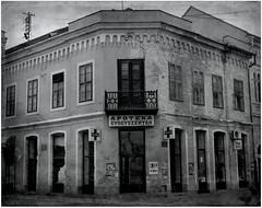 so2 (Blueskydreamer_) Tags: pharmacy old urban sombor city serbia srem abendoned vintage empty world people street time past