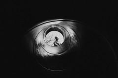 getting more brave (L. Paul) Tags: k1000 pentaxm 28mm f28 film ilford ilfordxp2400 xp2super400 xp2 35mm shootfilm grain blackandwhite monochrome