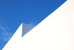 Caressing the Clouds (dylanawol66) Tags: salina europe italy aeolianislands geometry whitewash adobe wall monochrome lines geometric architecture blue white minimal line cloud cool