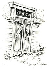 Anton Pieck- Bemin dan Amsterdam, 1948 ill Zandpad  tuinpoort (janwillemsen) Tags: antonpieck amsterdam bookillustration 19451948