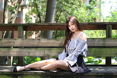 IMG_6244 (攝影玩家-明晏) Tags: 人 md 美女 辣妹 outdoor 戶外 pretty 外拍 人像 ourdoor portrait girl canon 學生 台灣大學 台大 70d 女人 女生 性感 sexy beautiful taiwan taipei caono sigma model image photo