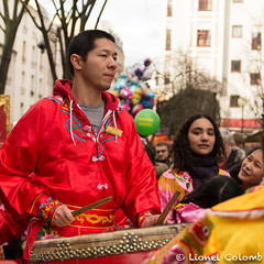 Nouvel an chinois (Lionelcolomb) Tags: paris îledefrance france fr xiii ° arrondissement canon sigma fête happy street celebration new year chinese human drum music percusions portrait