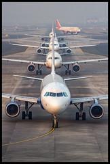 Indigo Airbus A320 VT-IGH Bombay (VABB/BOM) (Aiel) Tags: indigo airbus a320 vtigh bombay mumbai canon60d tamron70300vc lineup ramp
