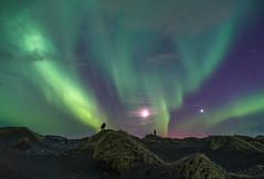 'Stokksnes Stargazers' - Iceland (Kristofer Williams) Tags: night sky stars moon venus nightscape aurora auroraborealis northernlights landscape sanddunes stokksnes iceland astro astrophotography