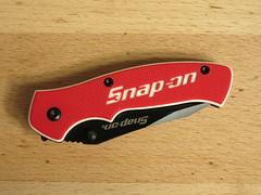 Snap-on Linerlock (CapCase) Tags: knife cutlery linerlock pocketknife snapon folder