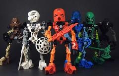 Bionicle Nostalgia (MrKjito) Tags: lego system constraction bionicle 2001 toa mata tahu kopaka lewa gali onua pohatu elemental heros nostalgia collection sets