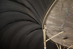 4 Ton Rubber Membrain to Regulate Pressure (jeff_a_goldberg) Tags: universityofarizona biospher2 biosphere winter tucson arizona unitedstates us