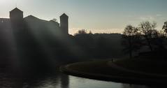 Morning stroll (whidom88) Tags: poland krakow wawel castle vustula river