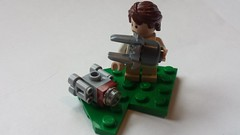 Children's Toys V: Boarding Craft and Escape Pod (FirstInfantry) Tags: lego starwars micro tcw cis