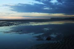 Good Things (Swebbatron) Tags: australia queensland brisbane deceptionbay sunset reflection beach coast radlab fuji travel 2008 lonelyplanet lp lifeofswebb work