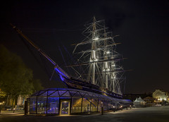 Cutty-Sark (babell4321) Tags: cuttysark london boat city night longexposure ship canoneos700d canon nightshot greenwich england greatbritian