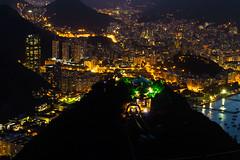 Dia no Pão-de-Açúcar (brittog) Tags: panorama rio rj sugarloaf paodeacucar night nightphotography photograpy contrast movement helicopter