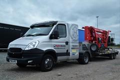 DSC_0001 (richellis1978) Tags: truck lorry haulage logistics transport hgv lgv cannock iveco daily artic van higher access po63hfe