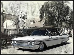 Mercury Monterey (novice09) Tags: backtothefifties carshow mercury 1961 convertible dreamscope pencilsketchapp