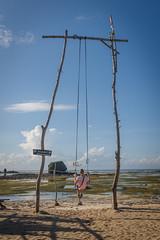 On The Swing (luke.me.up) Tags: indonesia lombok kuta nikon d810 beach swing