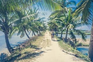 Camino playa