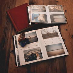 Memories (laurawilliams▲) Tags: surreal surrealism book photo album fine art nostalgia memories