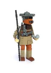 Boushh Leia (Miro78) Tags: starwars lego tribute boussh leia princess returnofthejedi figure model statue moc humblebricks miro78