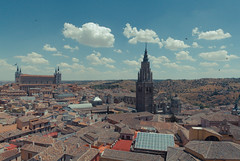 Ancient Toledo (hybbgo) Tags: spain city nature summer toledo ancient cityscape panorama