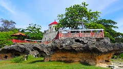 Watch tower (canencia) Tags: philippines bohol maribojoc history historic tower old watch spain spaniards local racs0708 sea water blue red wall