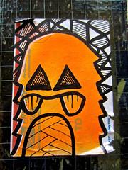 Priority Mail Sticker, London, UK (Robby Virus) Tags: street city uk greatbritain england london art english office sticker post mail unitedkingdom britain drawing british slap usps priority