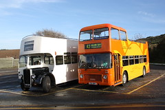 CAP229 and FDL681V Alum Bay (jimmycomfort) Tags: bus museum bristol southern vectis isle vr wight fdl fdl681v 681v
