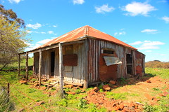 Hiney Road (Darren Schiller) Tags: orange house building abandoned farmhouse rural ruins australia rusted newsouthwales disused derelict deserted decaying