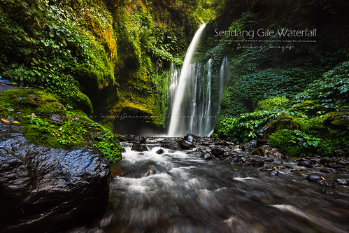 Sendang Gile/Tiu Kelep  Waterfall Lombok