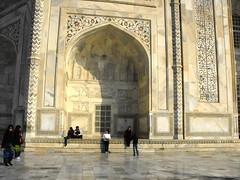 Agra, Taj Mahal Closeup, January 2012