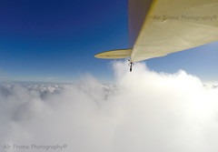 High above the clouds! (Air Frame Photography) Tags: uk sunset england 3 motion sunrise airplane photography cub flying nikon photographer power aircraft airplanes cockpit tags equipment oxford hero motive piper rv airlines runway cessna house shootings airliners  clarkson airtoair iphone d300 planespotting modernaviation ipad j3 airlinersnet bizjets 2 enginee a2a pilot photography gopro aircraftspotting airport aviationphotography damien jeremy jet oxford black iphone aviationphotographer aviationspotting aviationstock biz commericalaviationphotography commercialbizjetphoto businessjetphotographer aviationstockimages ipad airframe tupperware dyer 4s gopro hero2 hintoninthehedges