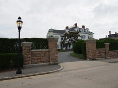 The mansions around bellevue avenue, Newport.