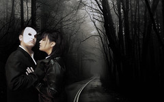 The Phantom of Opera (Diego Iberri Fotografa) Tags: people sonora mexico opera couple phantom guaymas fotomontaje composicin