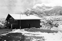 Berggasthaus Hospiz (IggyRox) Tags: snow storm mountains alps cold nature beauty switzerland europe top lodge glacier bern uri clearing swissalps sustenpass urneralps berggasthaushospiz