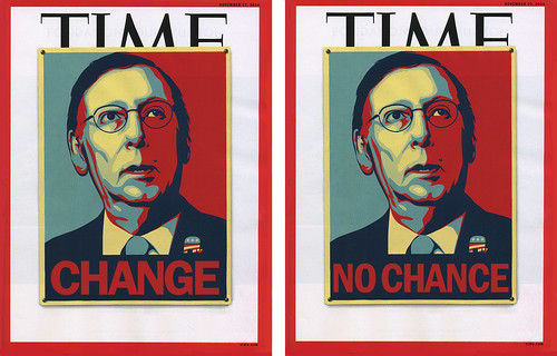 Time Magazine: Change/No Chance