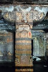 India - Maharashtra - Ajanta Caves - Cave 1 - 93 (asienman) Tags: india rock maharashtra ajantacaves asienmanphotography