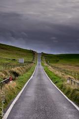 Shetland roads are ... irregular (GregOfPoland) Tags: shetland